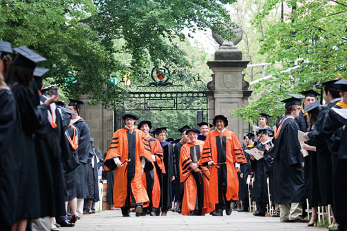 commencement 2009 princeton alumni weekly