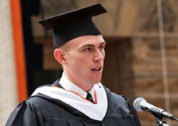 Salutatorian Stephen Hammer '09