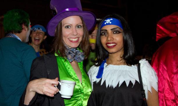 Cara Carraher, left, and Sohanna Akan. (Photos by John O'Neill '13)