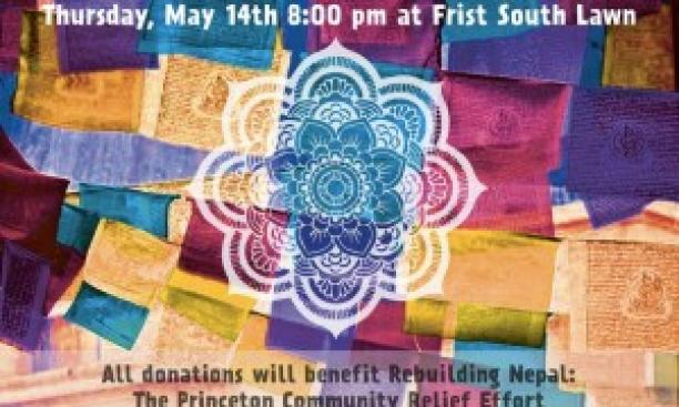 """A poster for the May 14 """"Together for Nepal"""" concert."""