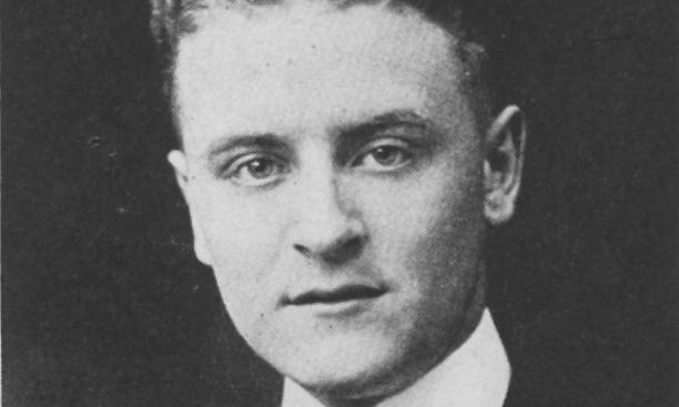 "F. Scott Fitzgerald '17 in 1920: ""The gay young magician with words"""