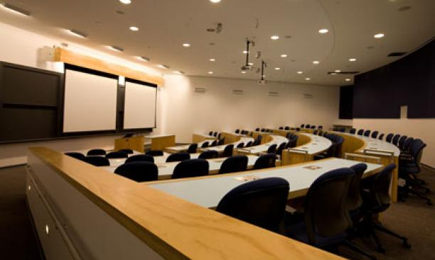 One of the two bowl classrooms.