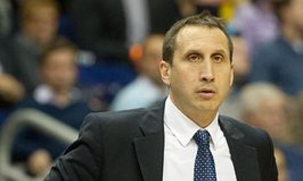 David Blatt '81 in 2012, when he was the head coach of Maccabi Tel Aviv. (© Sebastian Kahnert/DPA/ZUMAPRESS.com)