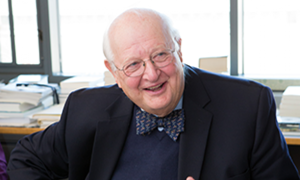 Angus Deaton, a professor of economics and international affairs, joined the Princeton faculty in 1983. (Denise Applewhite/Office of Communications)