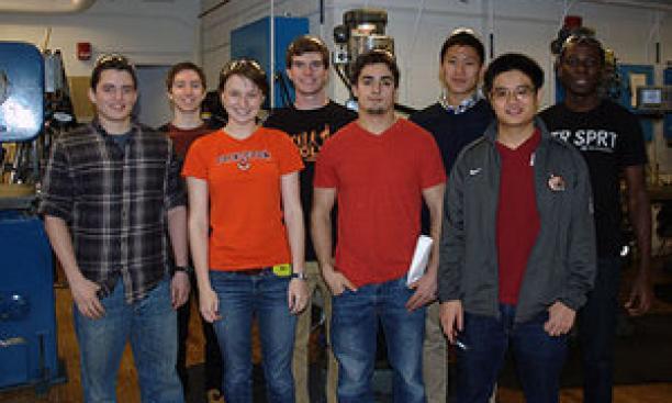 Members of Princeton Racing Electric