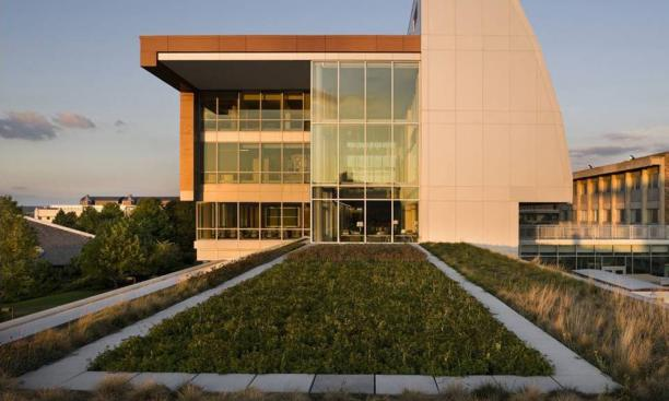 ATELIER TEN: The Park Center for Business and Sustainable Enterprise, designed by Robert A.M. Stern architects, has inspired a program of sustainable business and green building education at Ithaca College. (Photo: Courtesy Atelier Ten)