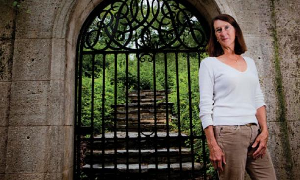 Rebecca Trafton '75 aims to preserve Dumbarton Oaks Park in Washington, D.C., which has been ravaged by storm water and invasive plants.