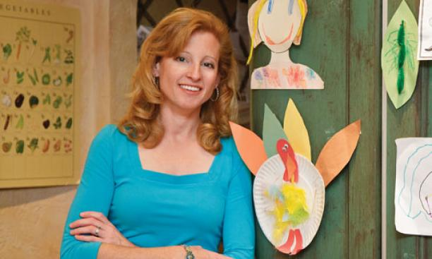 Laura Overdeck '91 launched Bedtime Math last winter.