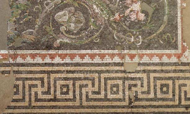 The Aphrodite and Adonis mosaic was made just a few decades after Peter and Paul roamed Antioch.