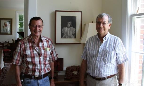 Desaix Anderson '58, left, and Buford Anderson '62.