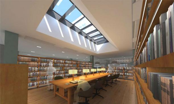 East reading room – Anticipated completion date: May 2017.