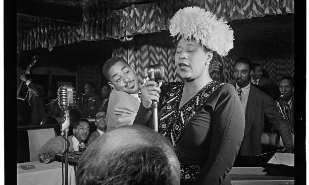 Ella Fitzgerald H'90 in 1947.