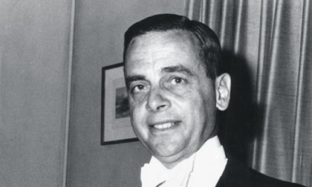 Goldschlag during his days as a diplomat. This undated photograph probably was taken when he was ­posted in Turkey, between 1967 and 1971.