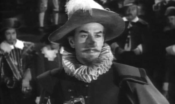 Jose Ferrer '33 as Cyrano: His fate included makeup even stranger than Triangle's