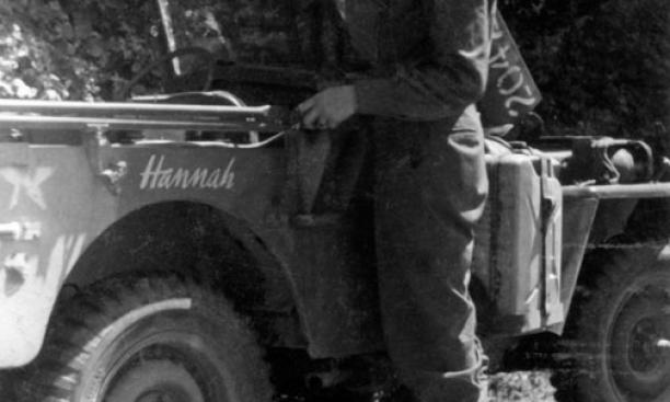 "Fox named his jeep ""Hannah"" after his fiancée, Hannah Putnam, whom he married eight days after returning home."
