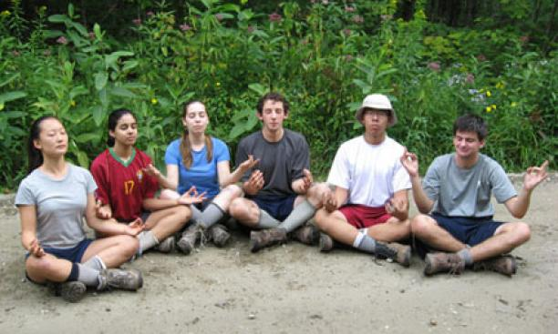A time of meditation in Vermont.