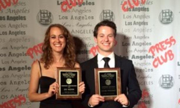 Eve Weston '01 and Zachary Pincus-Roth '02 (Courtesy Eve Weston and Zachary Pincus-Roth)