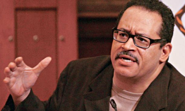 Georgetown University professor Michael Eric Dyson *93 opened the alumni conference.