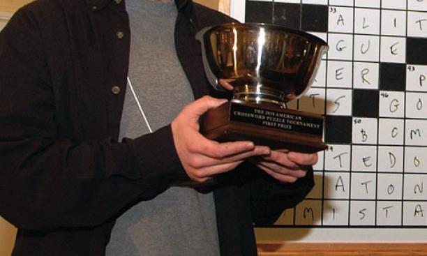 Dan Feyer '99, 2010 American Crossword Puzzle Tournament champion.