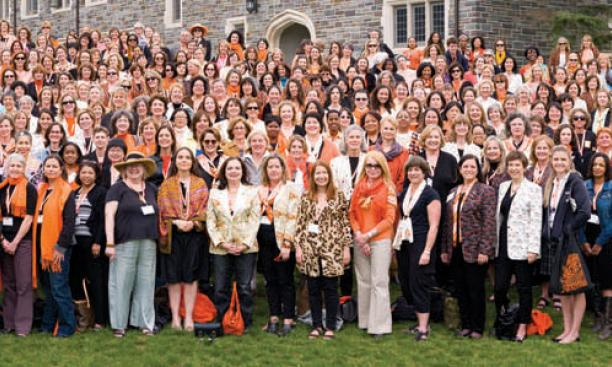 "The ""She Roars"" conference in April drew 1,400 alumnae."