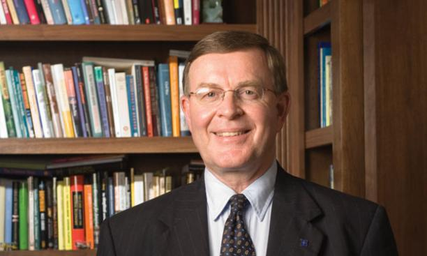 Larry Shinn *72 is president of Berea College, which educates many low-income students from Appalachia.