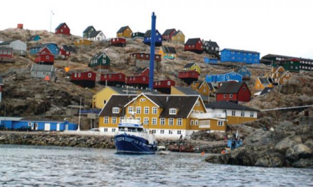 Visit to Uummannaq, Greenland.