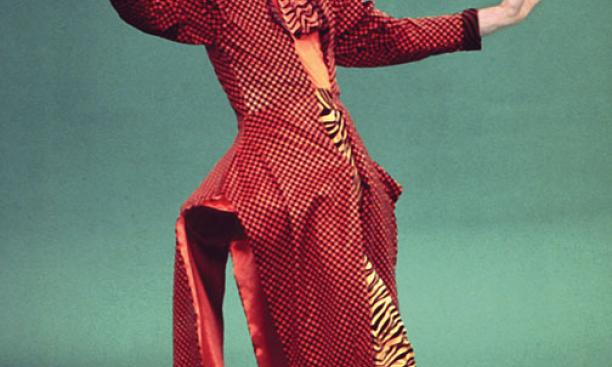 "Douglas Dunn '64 performs ""The Myth of Modern Dance"" in 1990."
