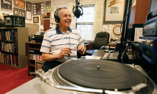 "David Miller '50 is the host and producer of a weekly radio program, ""Swingin' Down the Lane with David Miller."""