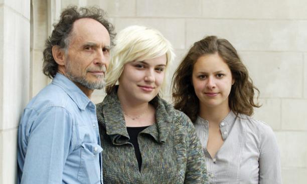 From left, Stephen Wangh, Kristin Dombek, and Katie Seaver '10