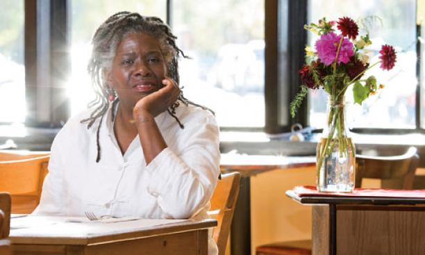 Valerie Erwin '79, chef and owner, Geechee Girl Rice Café, Philadelphia, Pa.