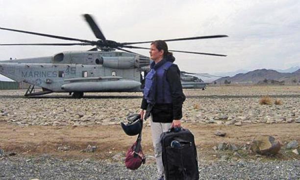 Kira Gnesdiloff '98: Afghanistan, 2005