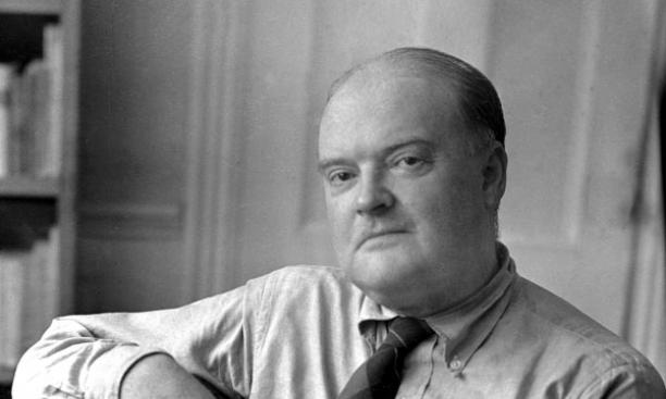 Writer Edmund Wilson '16 in 1951, the year Christian Gauss died. The two men had a close relationship for decades.