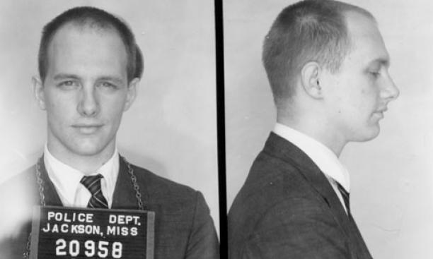 John Gager's mug shots, taken after his arrest in Jackson, Miss., in 1961.