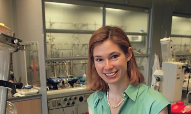 The research of assistant professor Abby Doyle, who joined the faculty in 2008, is changing the way molecules are coupled together.