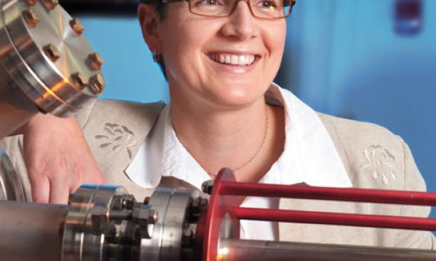 """Claire Gmachl: """"A tremendous opportunity to advance the research."""""""