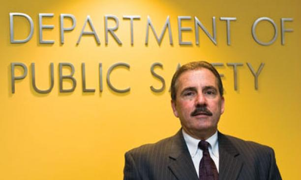 """FOP president Jim Lanzi: """"Part of the police officer's role is to carry a weapon."""""""