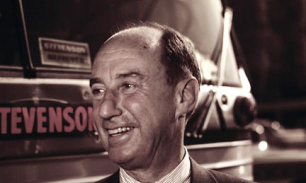 "Adlai Stevenson '22: ""The egghead was hard-boiled,"" his son said."