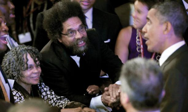 "Professor Cornel West *80 said President Barack Obama ""cussed me out"" during this exchange after Obama's National Urban League speech last year in Washington, D.C."