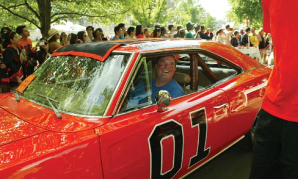 "CLASSIC RIDES: The ""General Lee"" is a numerical natural for the Class of '01."