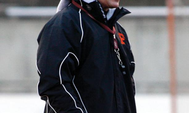Chris Bates, men's lacrosse head coach