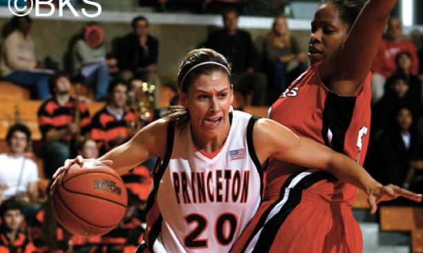 Meagan Cowher '08 has climbed to fourth on Princeton's career scoring list.