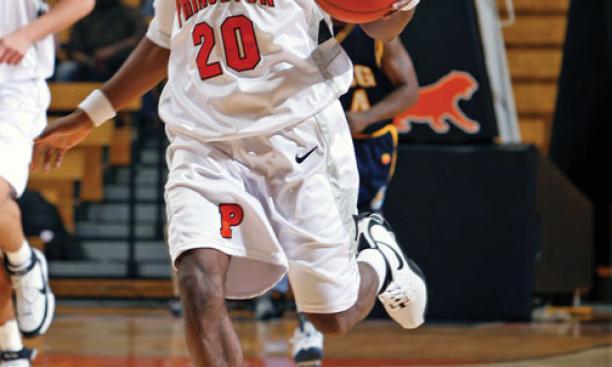 Freshman Doug Davis is Princeton's top scorer.