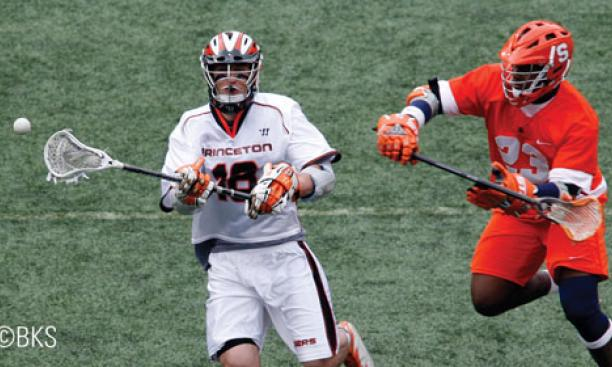 Rich Sgalardi '09 had two goals and two assists against Syracuse.