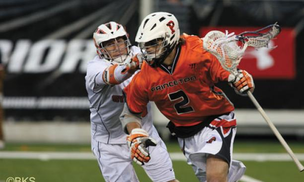Scott MacKenzie '10 scored the first of Princeton's four goals against Syracuse.