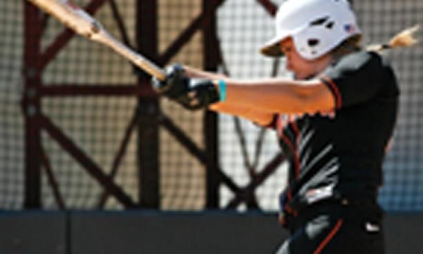 Kelsey Quist '10 hit 14 home runs this year, tying classmate Jamie Lettire '10 for the Ivy League lead.
