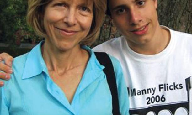 Cynthia Chase '75 today with her son, William Culler-Chase.