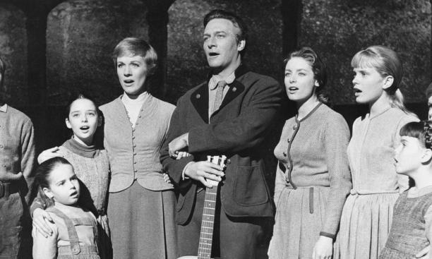 "Nicholas Hammond '71, left, as Friedrich in ""The Sound of Music."""