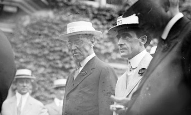 Wilson, then U.S. President, returned to campus for his 35th reunion in 1914, and lashed out at his Princeton foes — including Hibben.