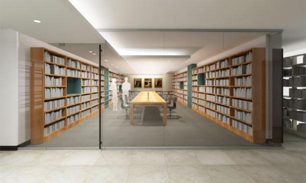 A Floor reading room – Anticipated completion date: October 2013.