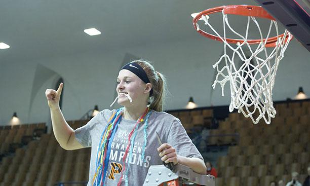 b53d34762310 Carlie Littlefield  21 celebrates the second Ivy Tournament championship in  her two seasons at Princeton.